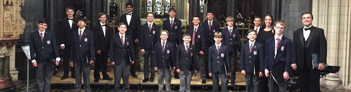 Boychoir Singing in Ireland