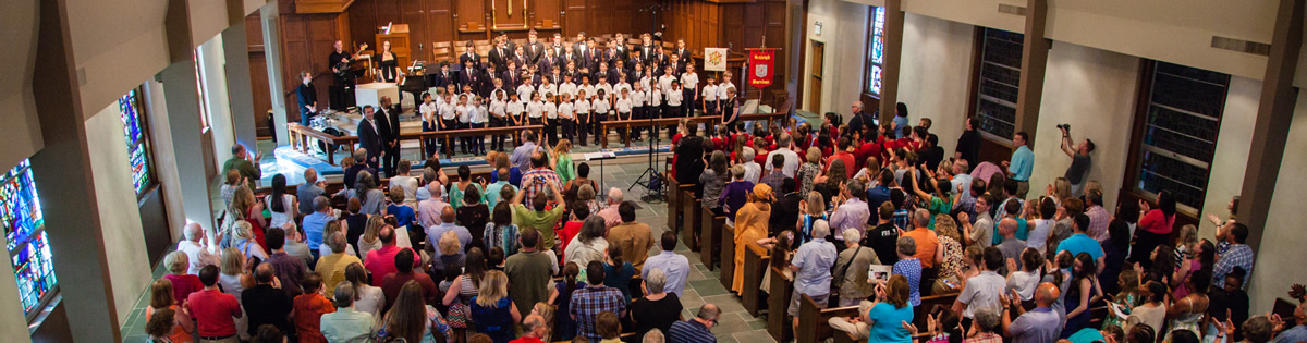The Raleigh Boychoir Performing